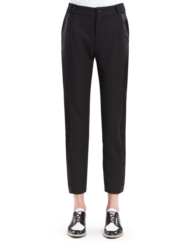 LANVIN GABARDINE PANTS Pants D a