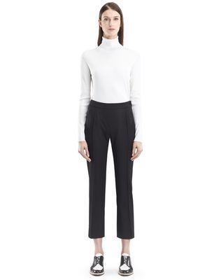 LANVIN STRETCH GABARDINE PANTS Pants D f