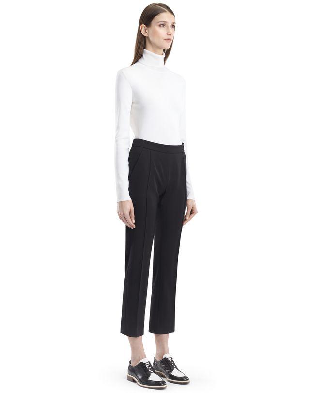 LANVIN STRETCH GABARDINE PANTS Pants D d