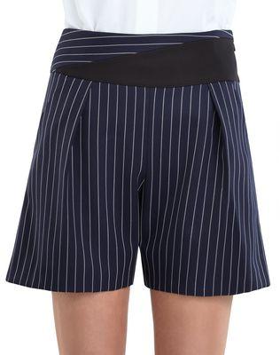 LANVIN PINSTRIPE GABARDINE SHORTS Pants D a