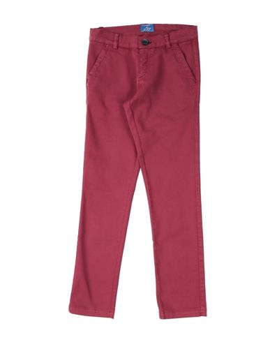 Фото - Повседневные брюки от FAY красно-коричневого цвета