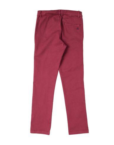 Фото 2 - Повседневные брюки от FAY красно-коричневого цвета