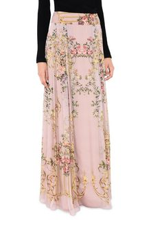 ALBERTA FERRETTI PALACE PINK SKIRT GONNA Donna r