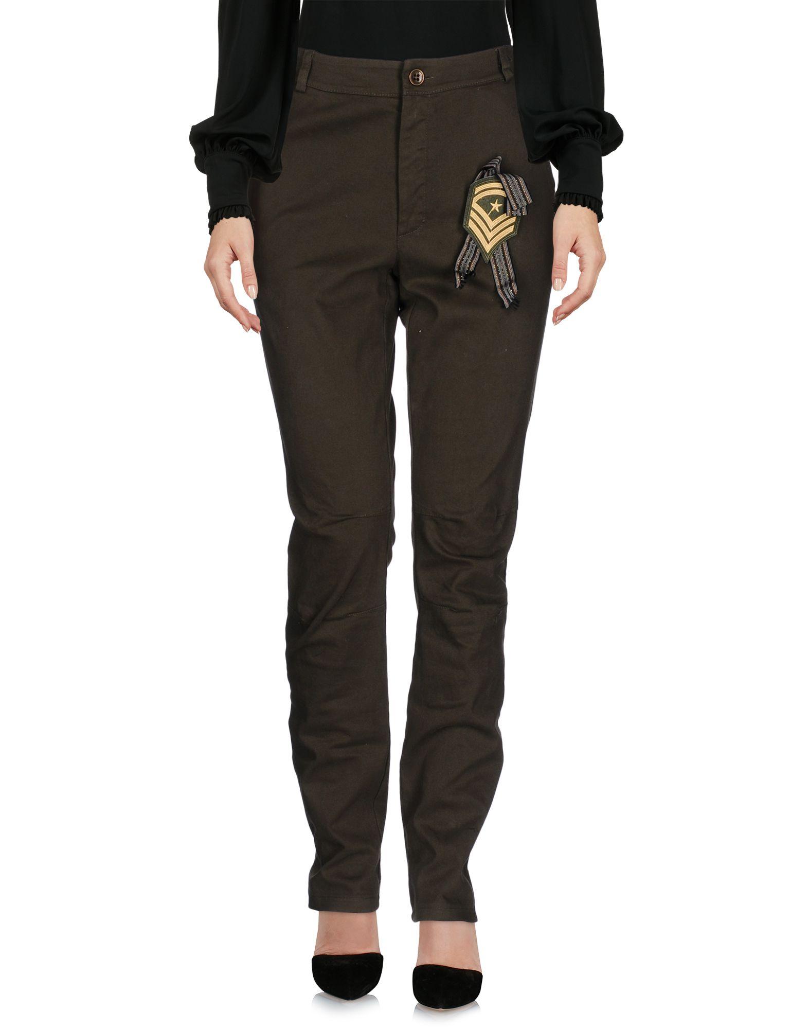 LE STREGHE Повседневные брюки olympia le tan джинсовые брюки