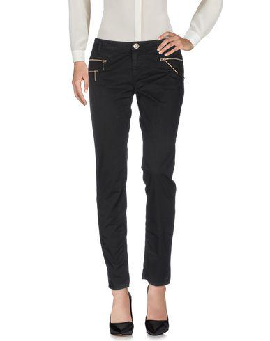 Фото - Повседневные брюки от ELISABETTA FRANCHI JEANS черного цвета