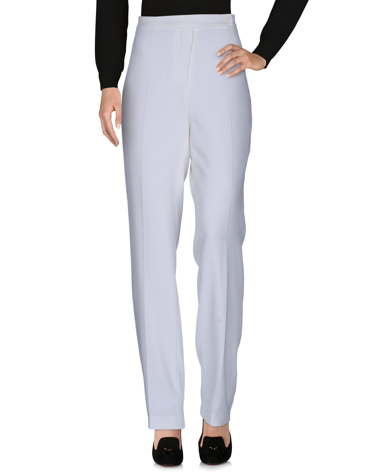 ROBERTO QUAGLIA Damen Hose Farbe Weiß Größe 6