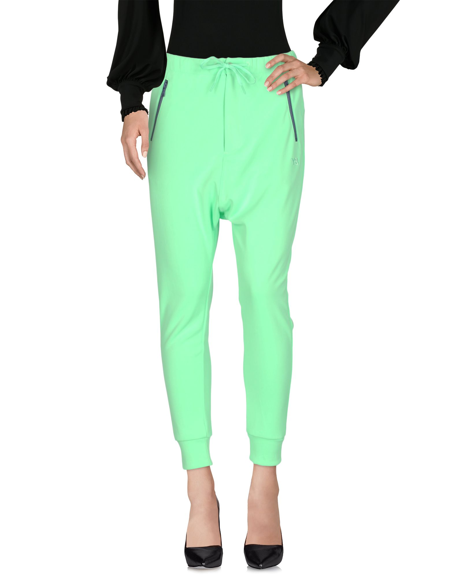 Casual Pants in Light Green