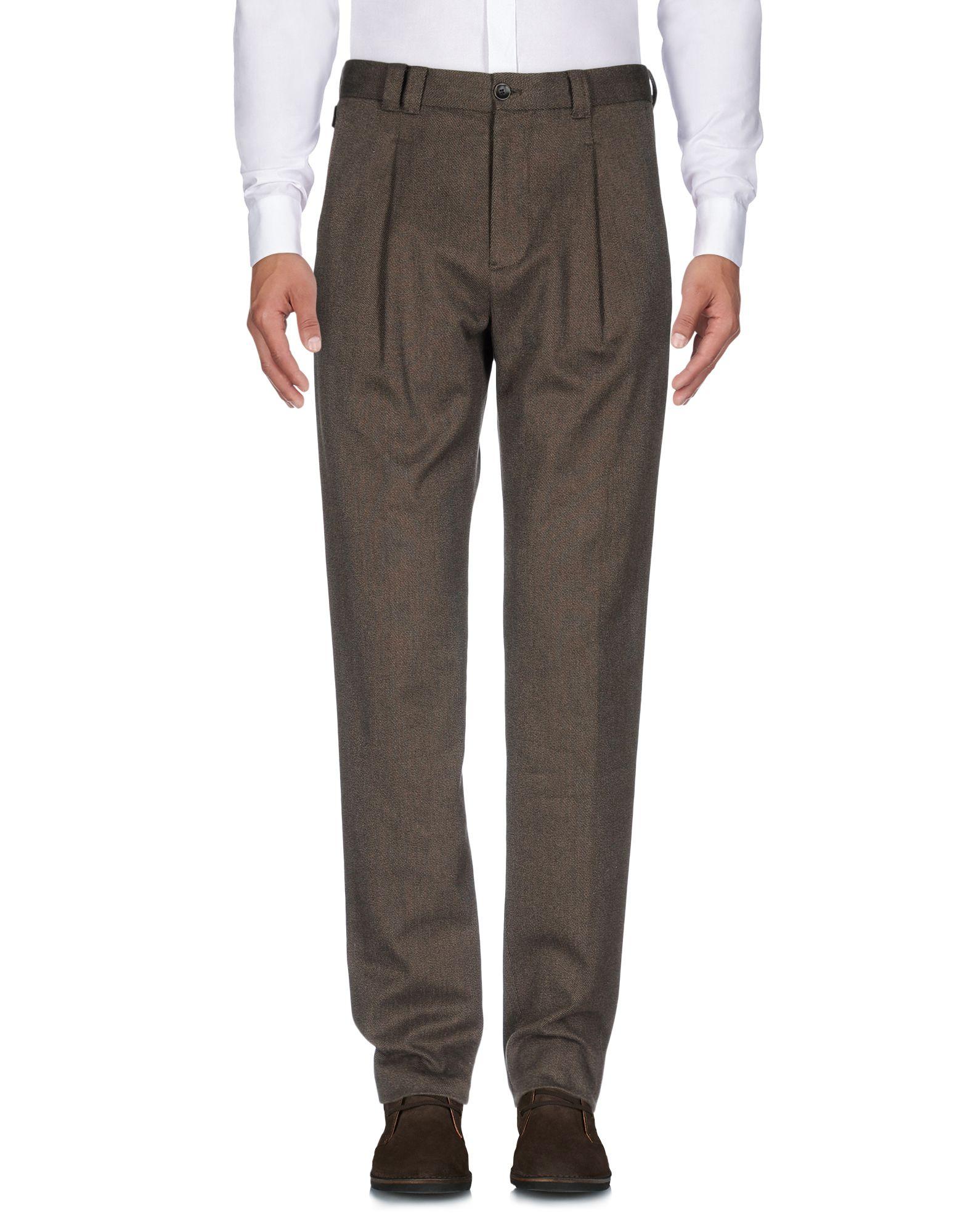 цена  ARMANI COLLEZIONI Повседневные брюки  онлайн в 2017 году