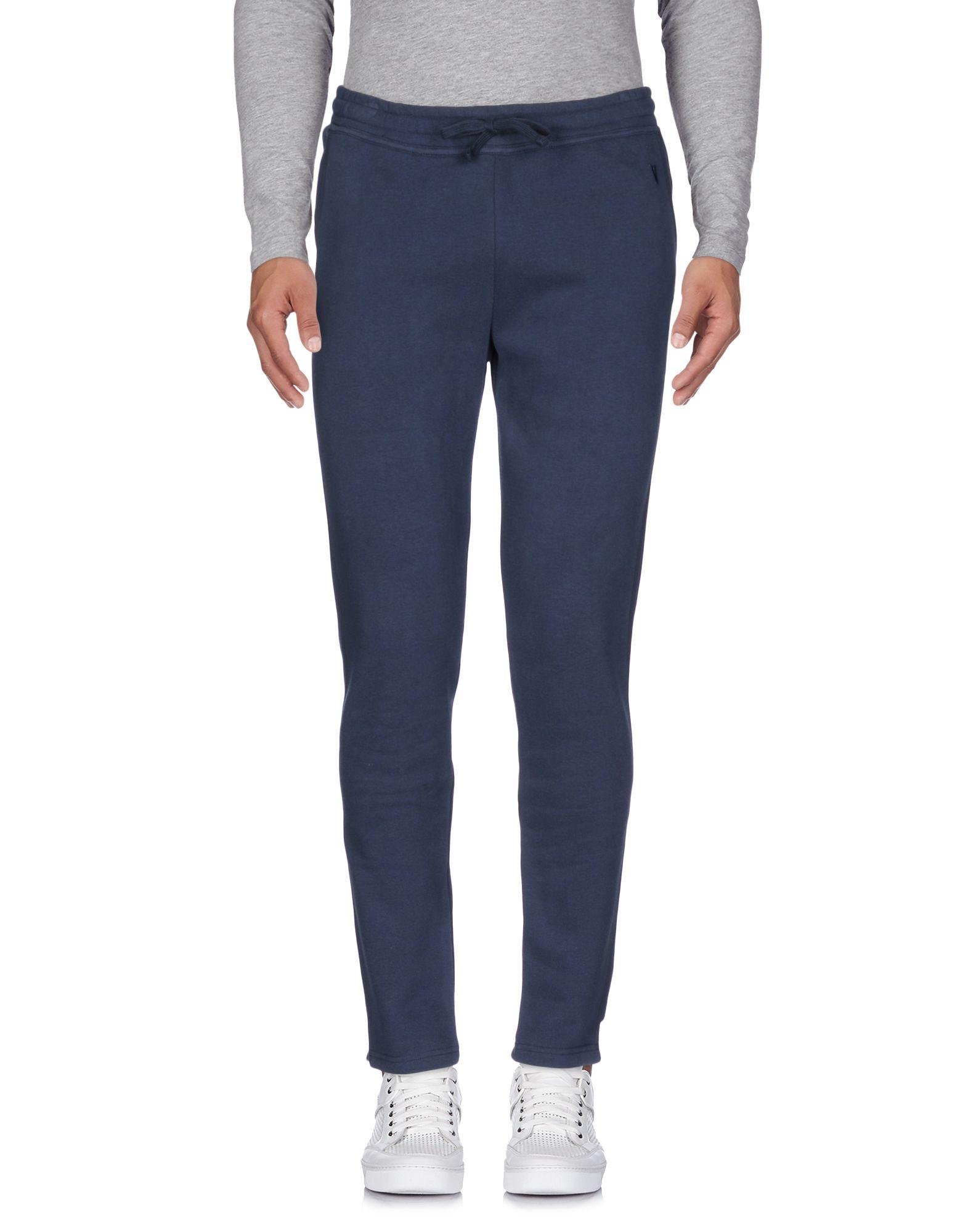 VIRTUS PALESTRE Casual Pants in Dark Blue