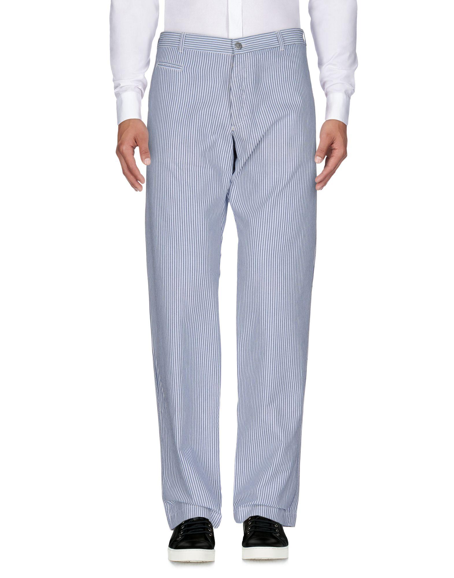 《送料無料》AVIO メンズ パンツ ブルー 46 コットン 100%