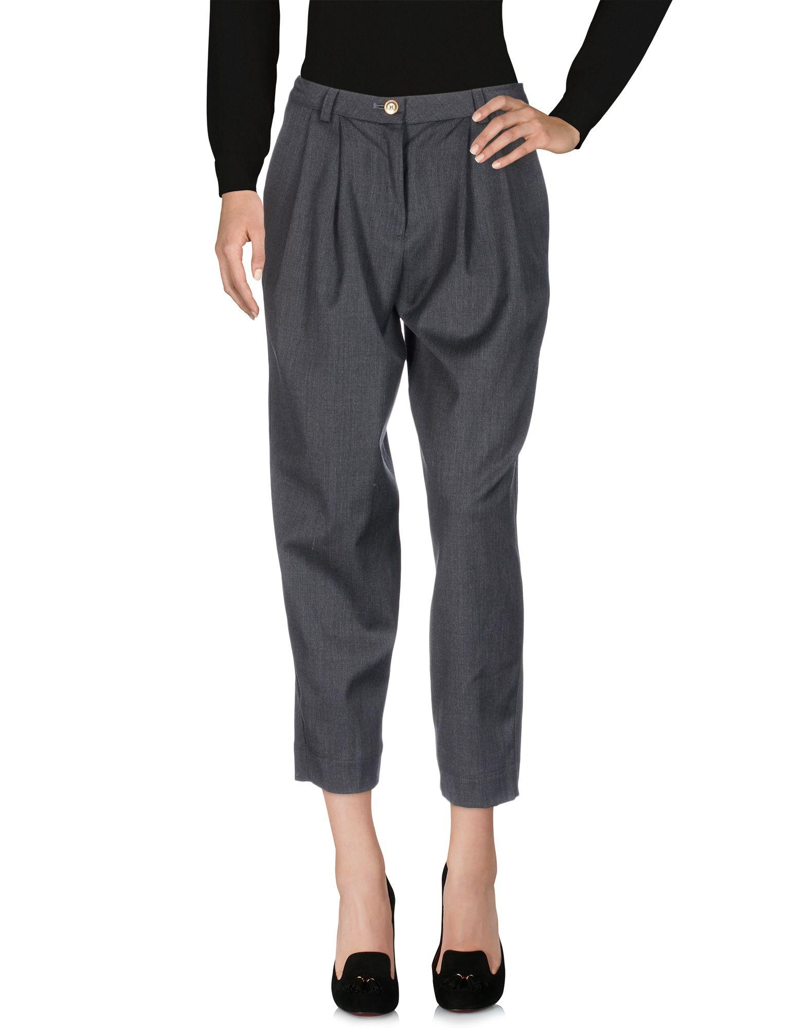 J.WON Casual Pants in Steel Grey