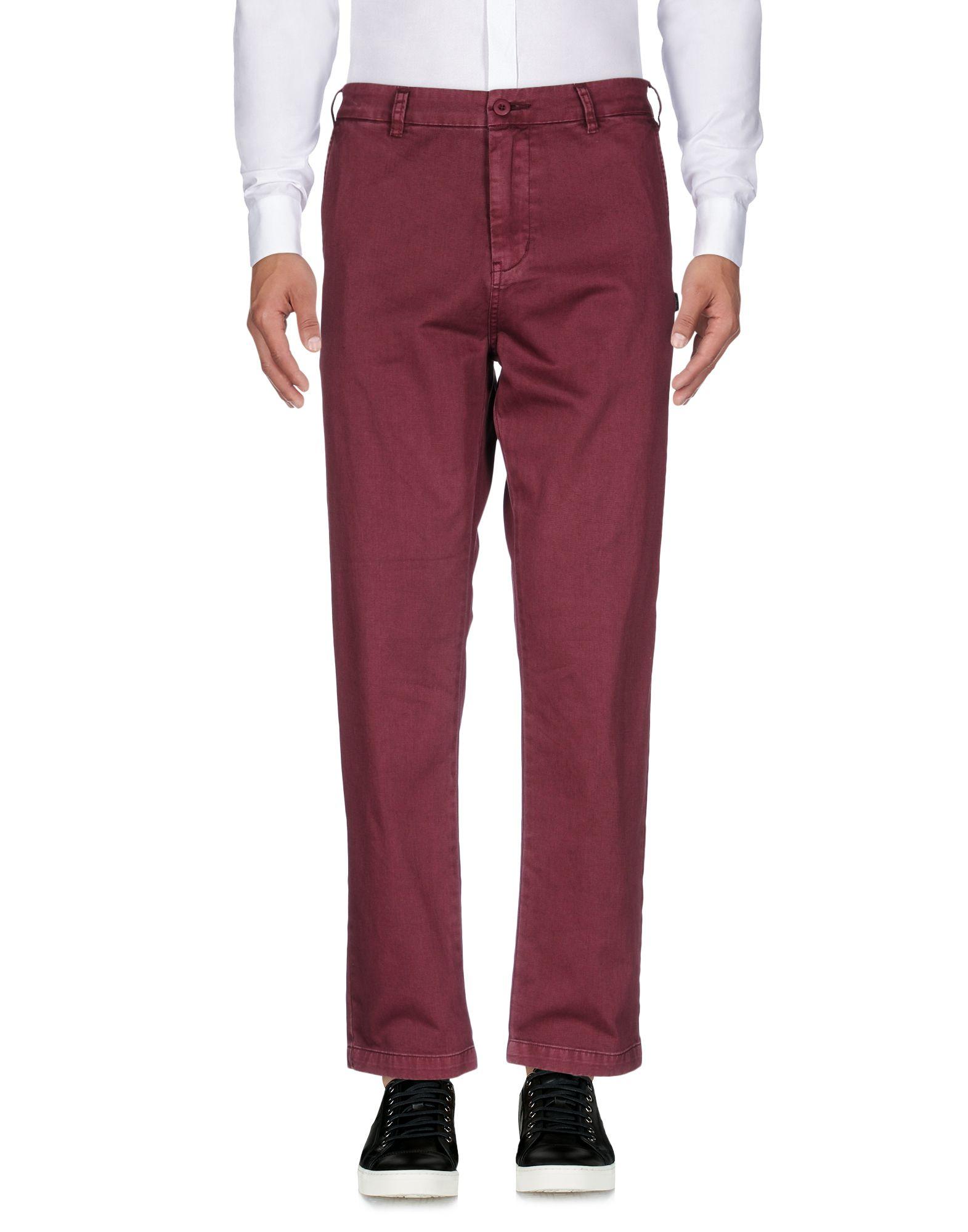 цена STUSSY Повседневные брюки онлайн в 2017 году