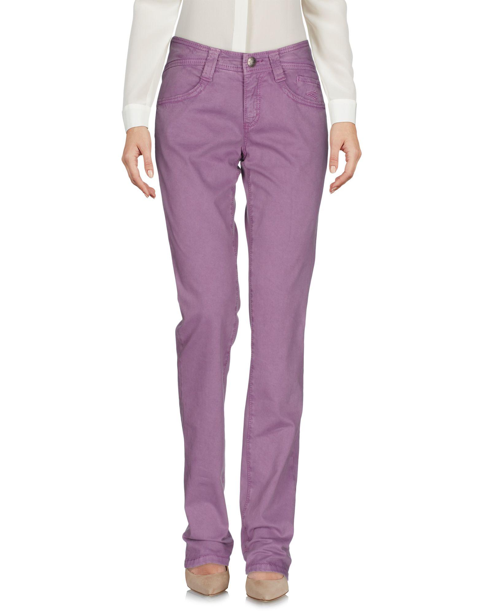 CARLO CHIONNA Damen Hose Farbe Lila Größe 7 jetztbilligerkaufen