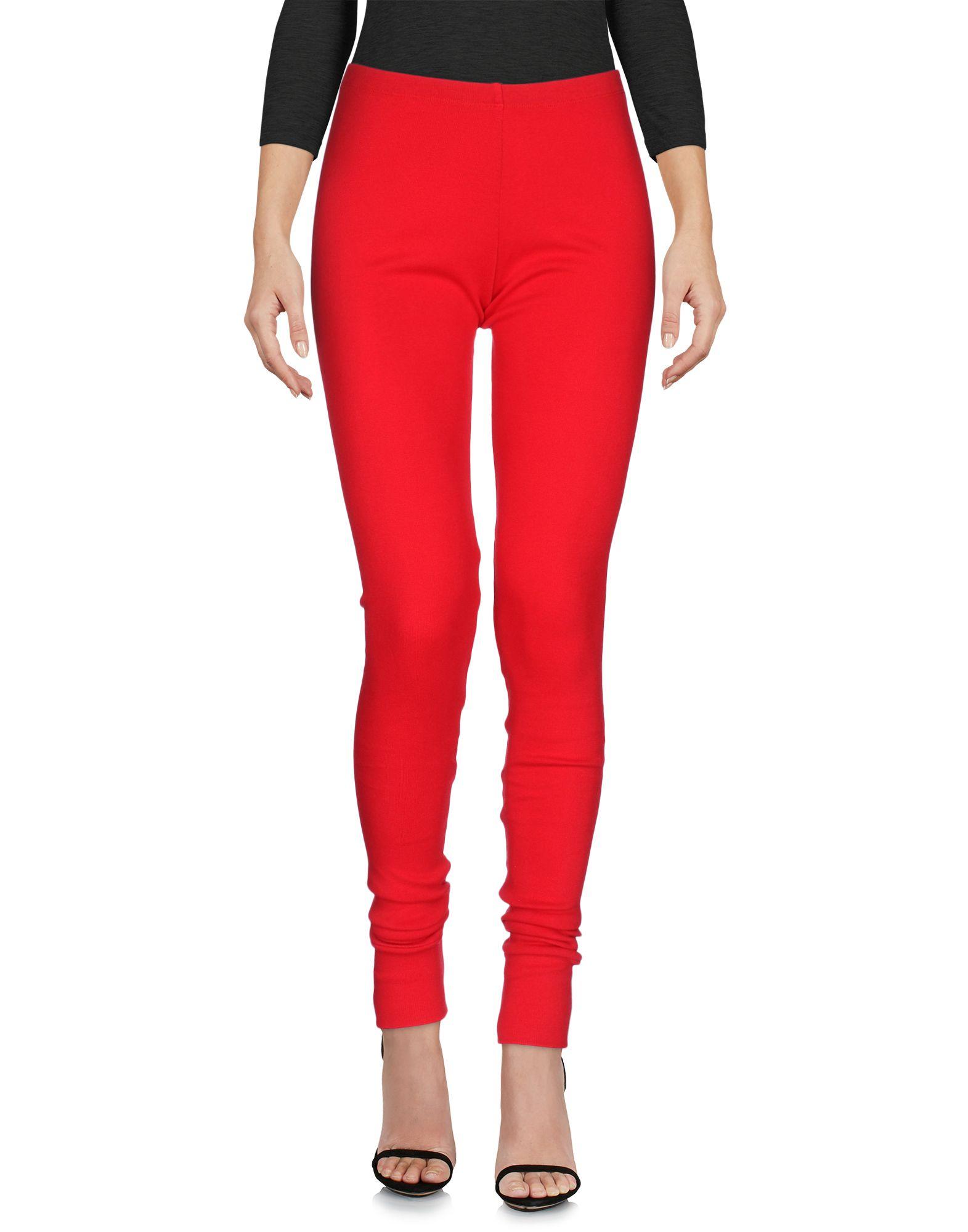 LUCIO VANOTTI Damen Leggings Farbe Rot Größe 5 jetztbilligerkaufen
