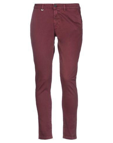 Фото - Повседневные брюки от DW FIVE красно-коричневого цвета