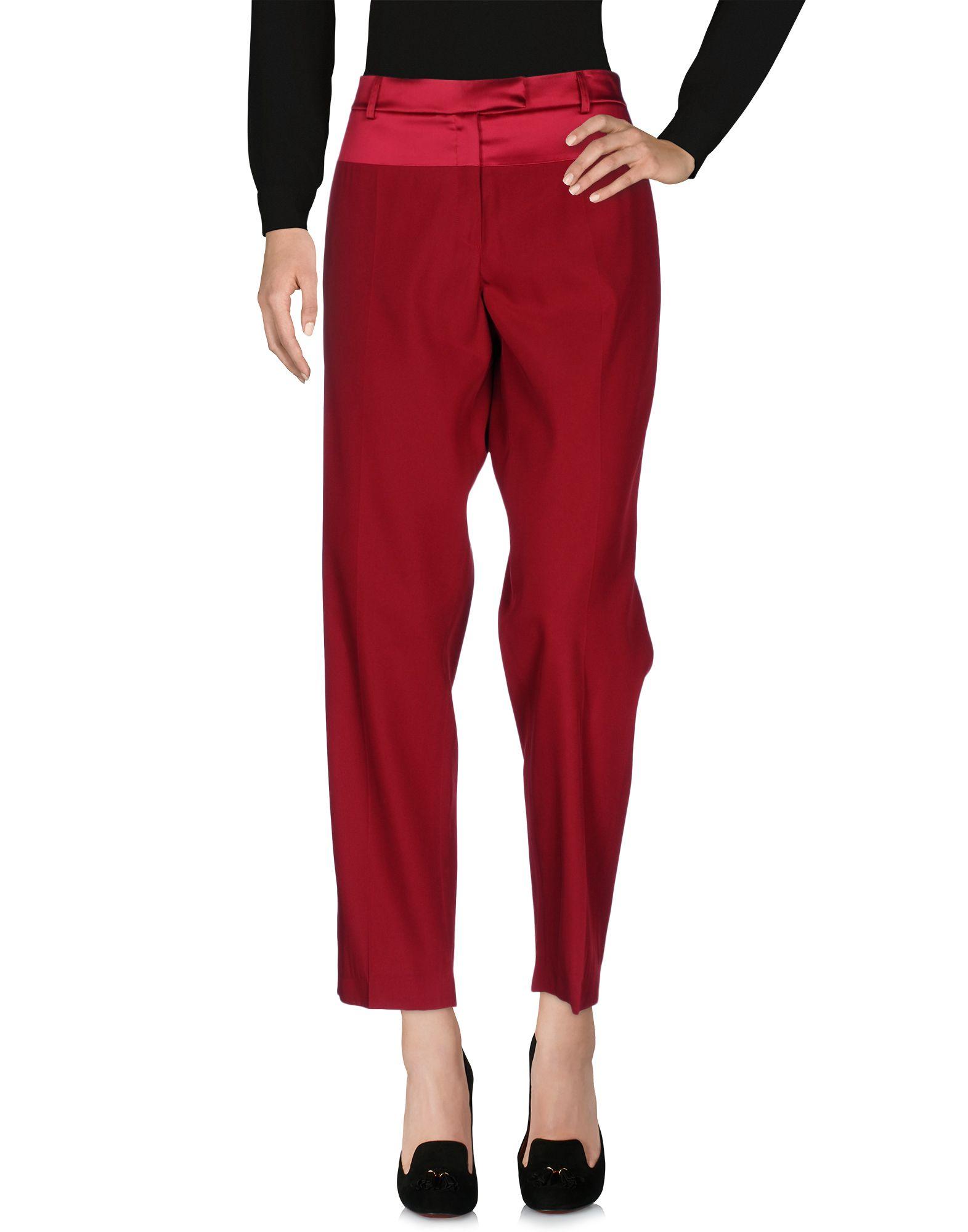 SALVATORE FERRAGAMO Повседневные брюки мужские повседневные брюки белья шелк смесь брюки плюс размер штаны брюки ореховый c159