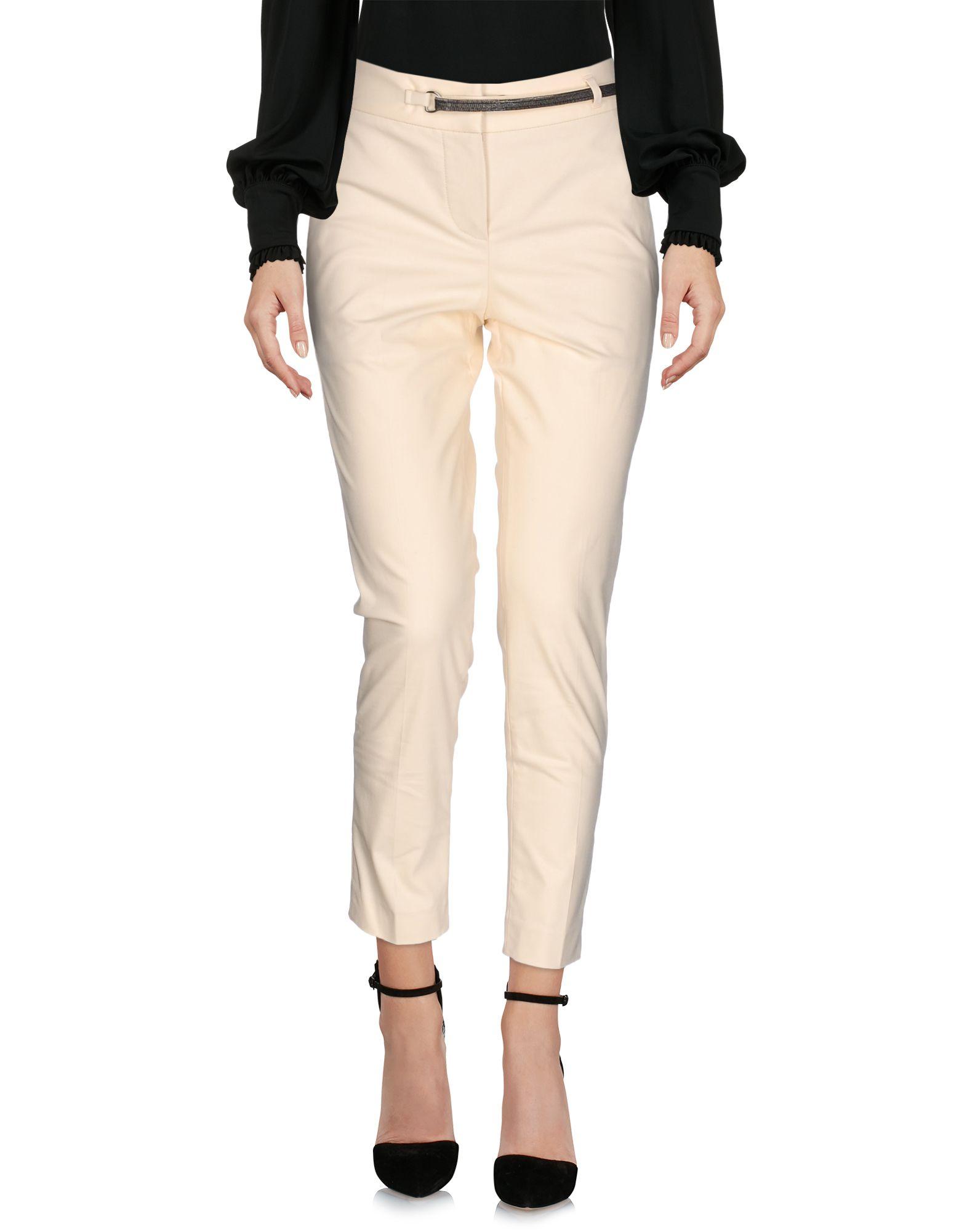BRUNELLO CUCINELLI Damen Hose Farbe Elfenbein Größe 3 jetztbilligerkaufen