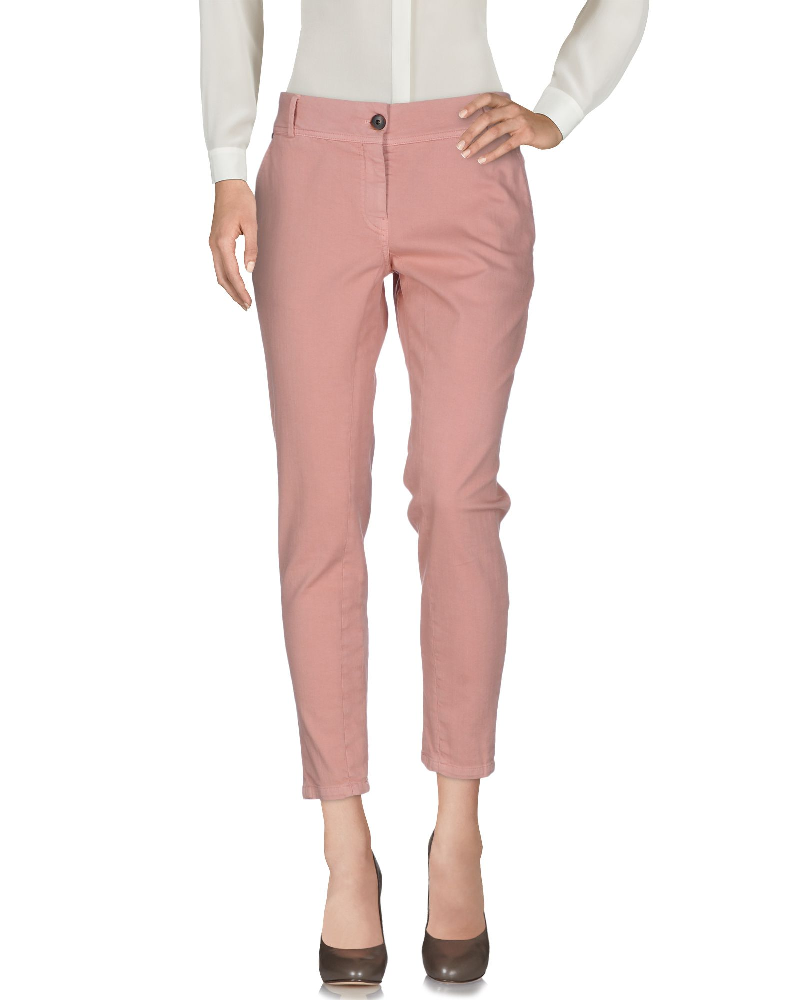 BRUNELLO CUCINELLI Damen Hose Farbe Rosa Größe 6 jetztbilligerkaufen