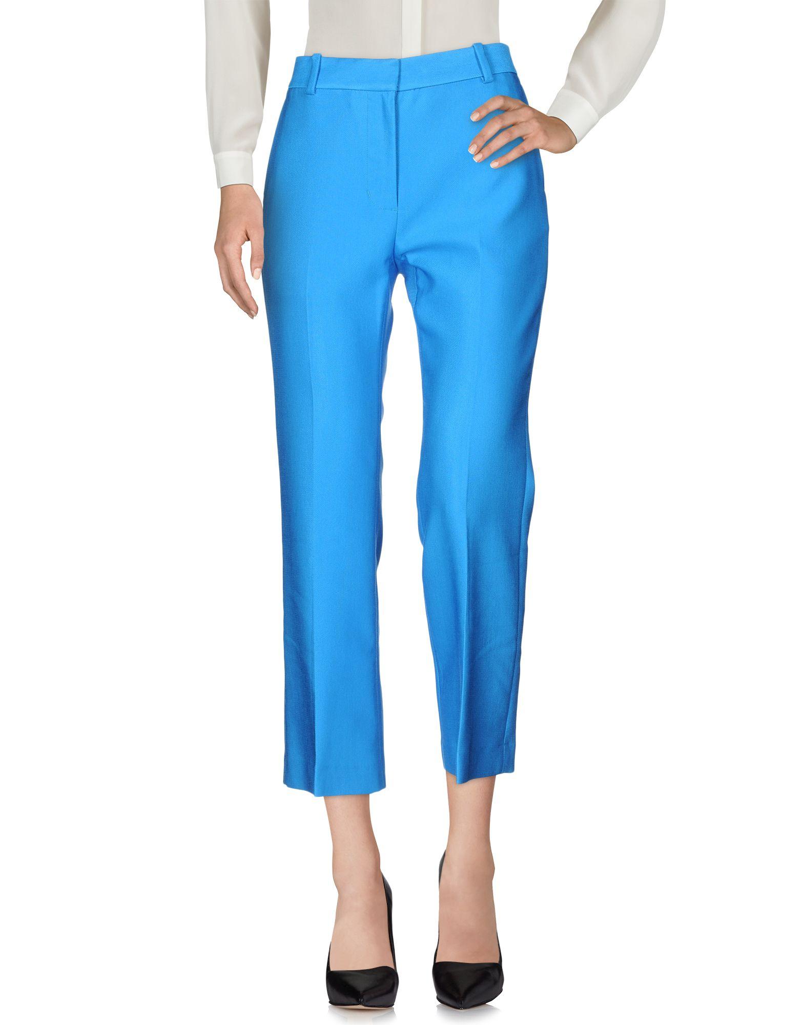 3.1 PHILLIP LIM Damen Hose Farbe Azurblau Größe 4 jetztbilligerkaufen