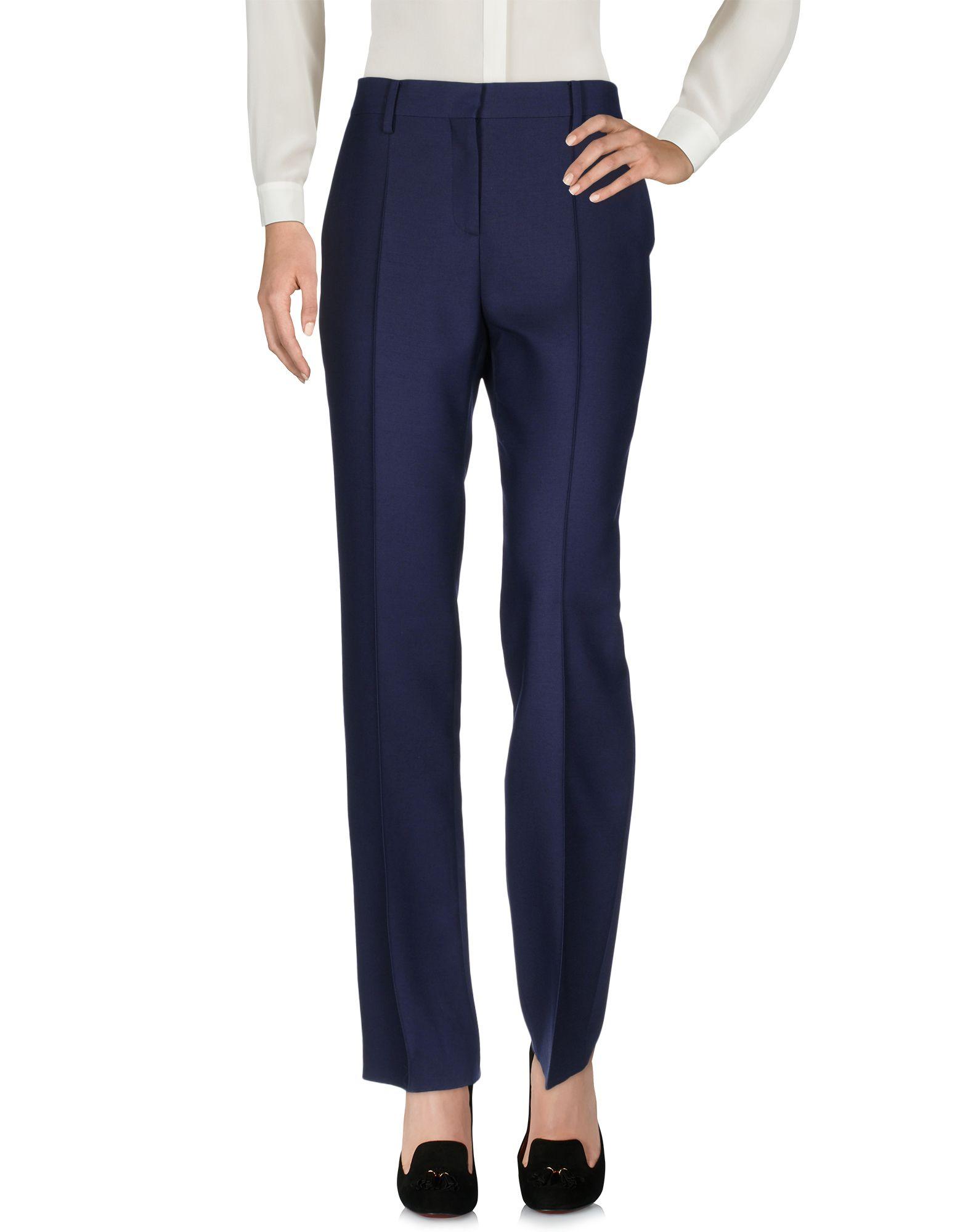 VALENTINO Damen Hose Farbe Blau Größe 4 jetztbilligerkaufen