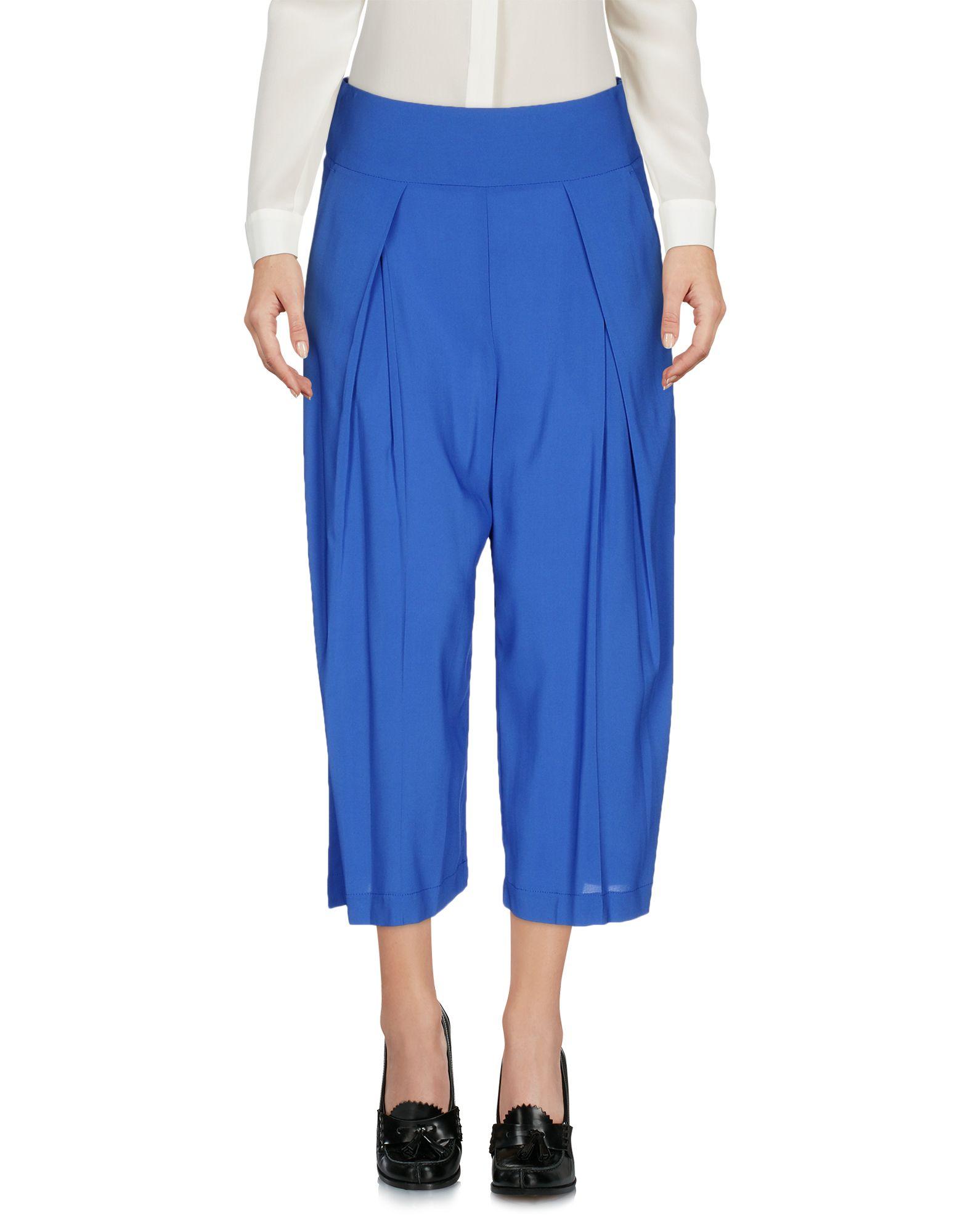 PINKO Damen Caprihose Farbe Blau Größe 5 jetztbilligerkaufen