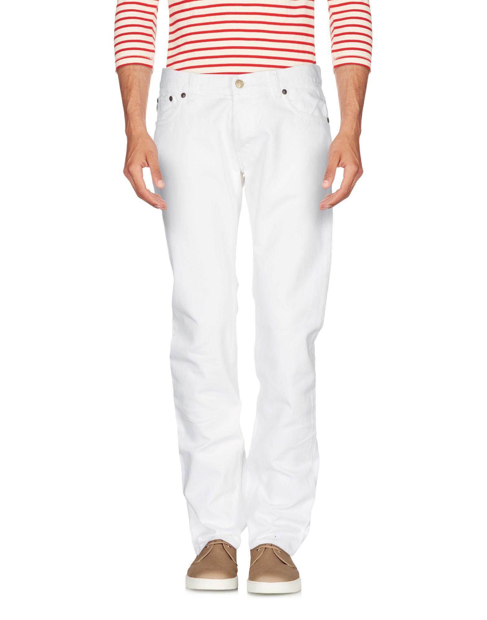 JUST CAVALLI Herren Jeanshose Farbe Weiß Größe 8