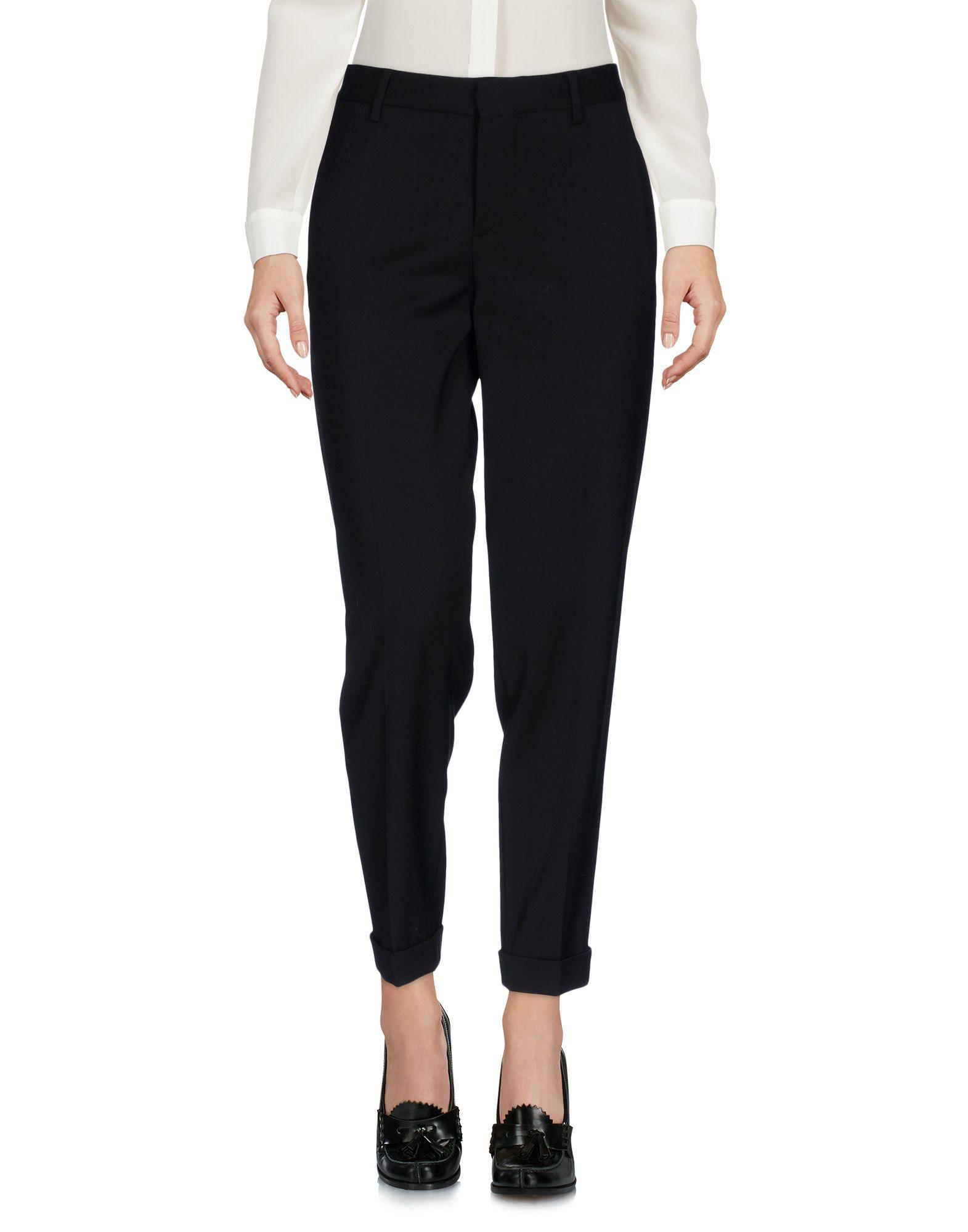 DSQUARED2 Damen Hose Farbe Schwarz Größe 2