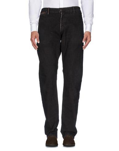 Фото - Повседневные брюки от VICTOR B темно-коричневого цвета