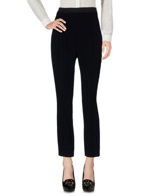 DOLCE & GABBANA Damen Hose Farbe Schwarz Größe 2