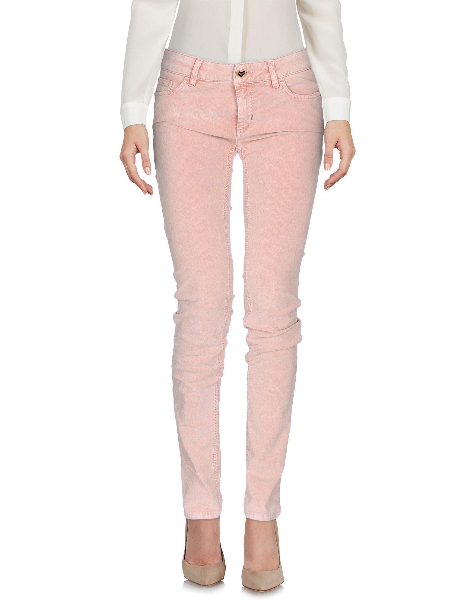 TWIN-SET JEANS Casual Pants in Pink