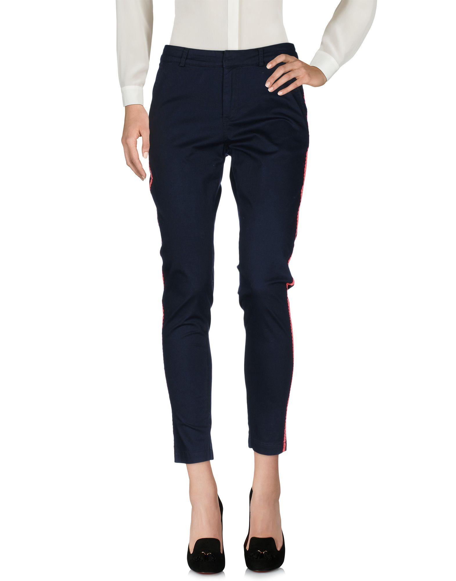 CUSTOMMADE Casual Pants in Dark Blue