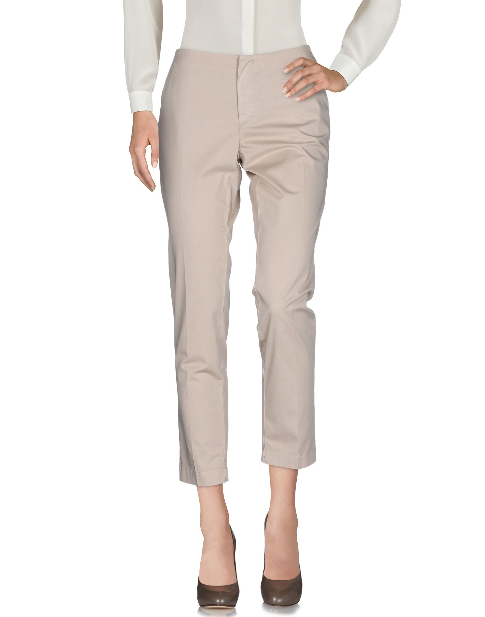 TERESA DAINELLI Casual Pants in Beige