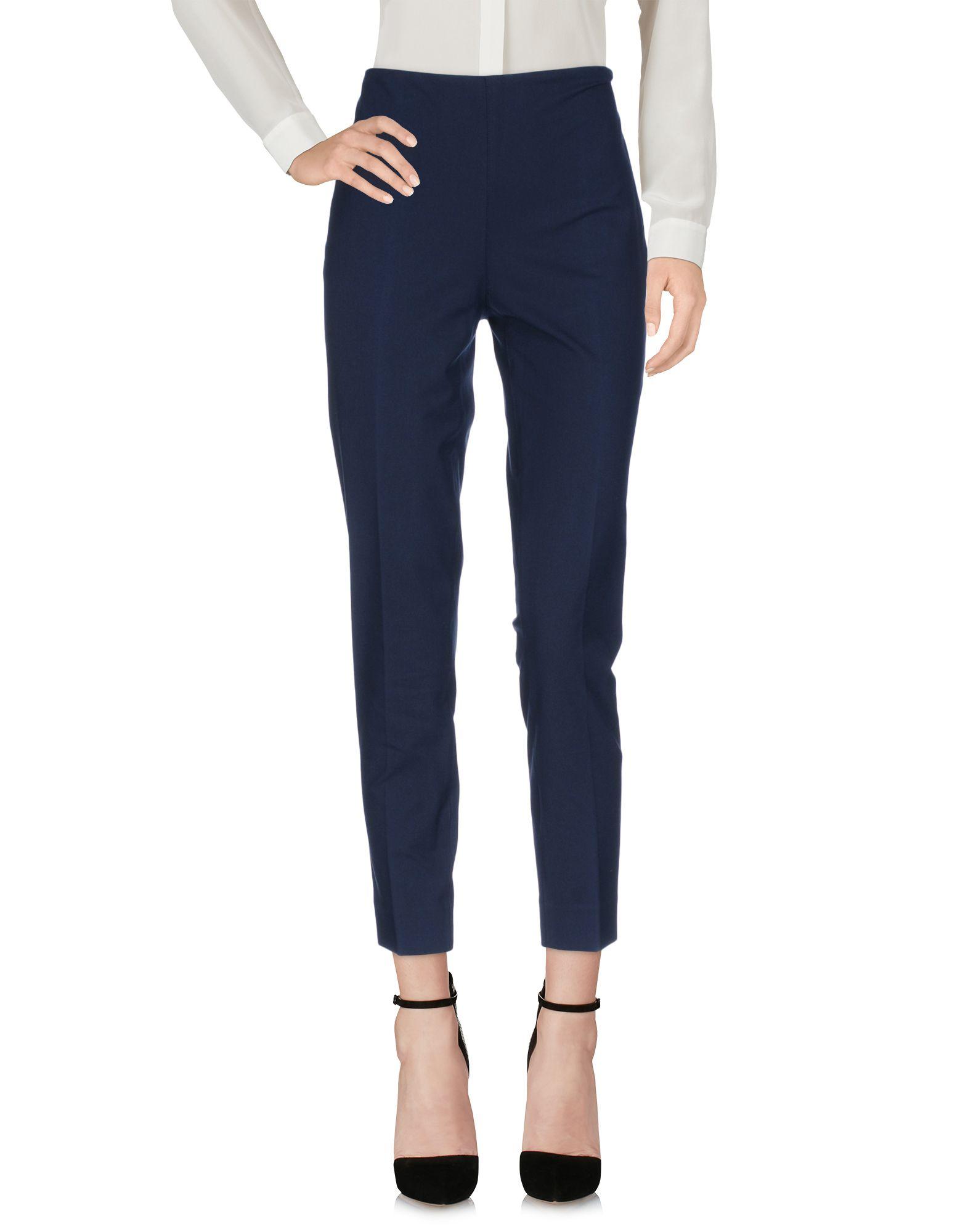 RALPH LAUREN BLACK LABEL Damen Hose Farbe Blau Größe 2 - broschei