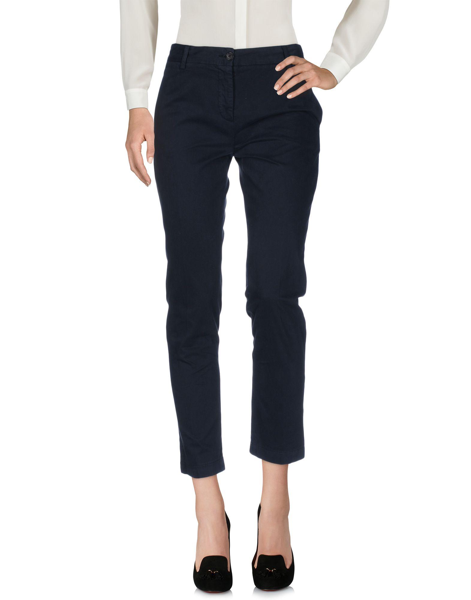 ASPESI Damen Hose Farbe Dunkelblau Größe 3 - broschei