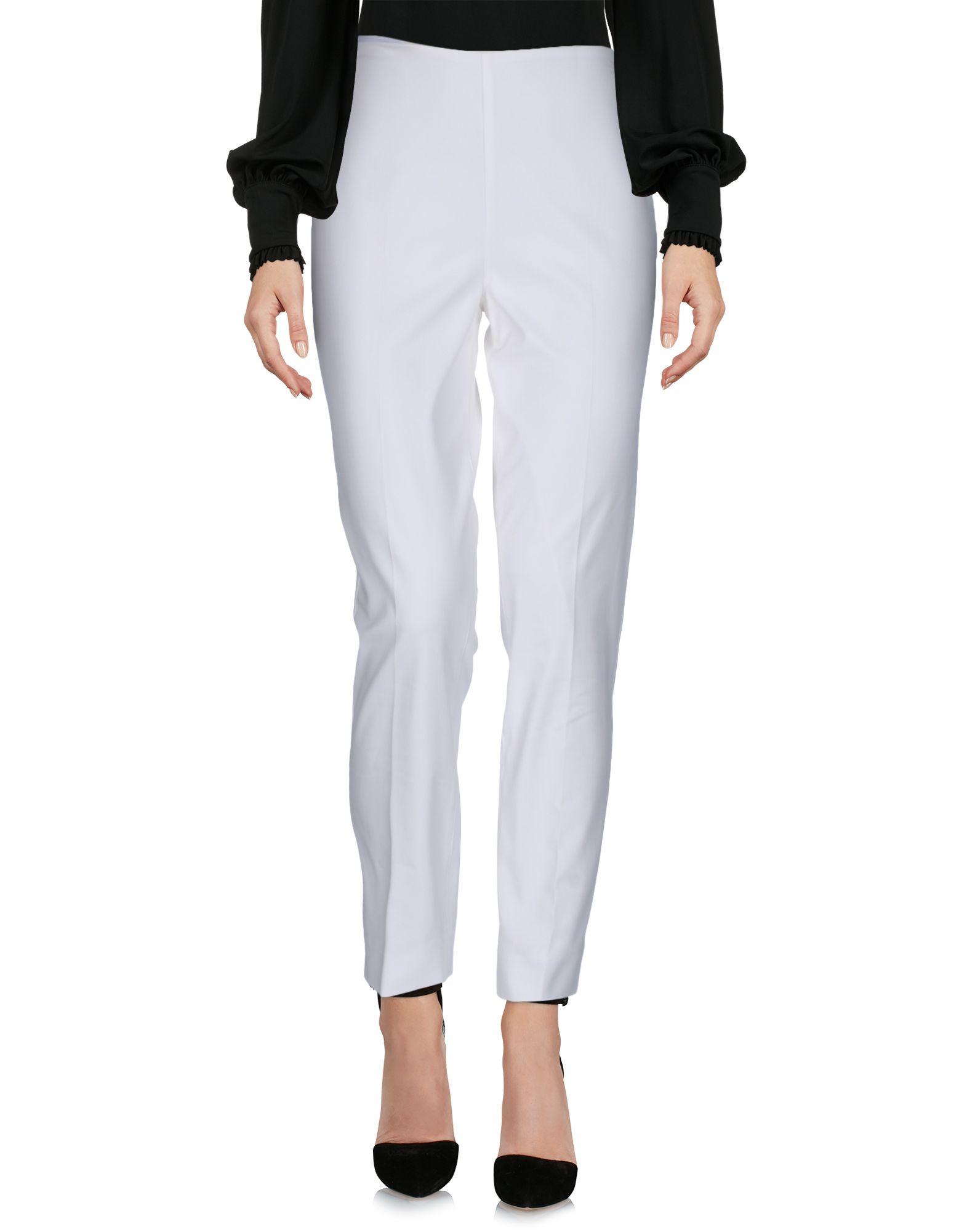 RALPH LAUREN BLACK LABEL Damen Hose Farbe Weiß Größe 4 - broschei