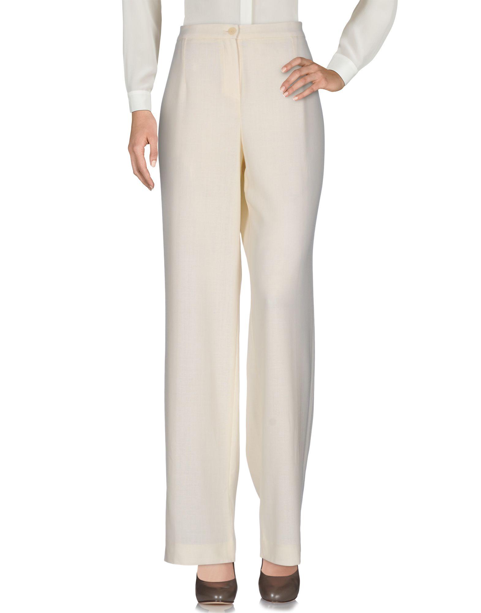 LEONARD Paris Damen Hose Farbe Beige Größe 9 - broschei