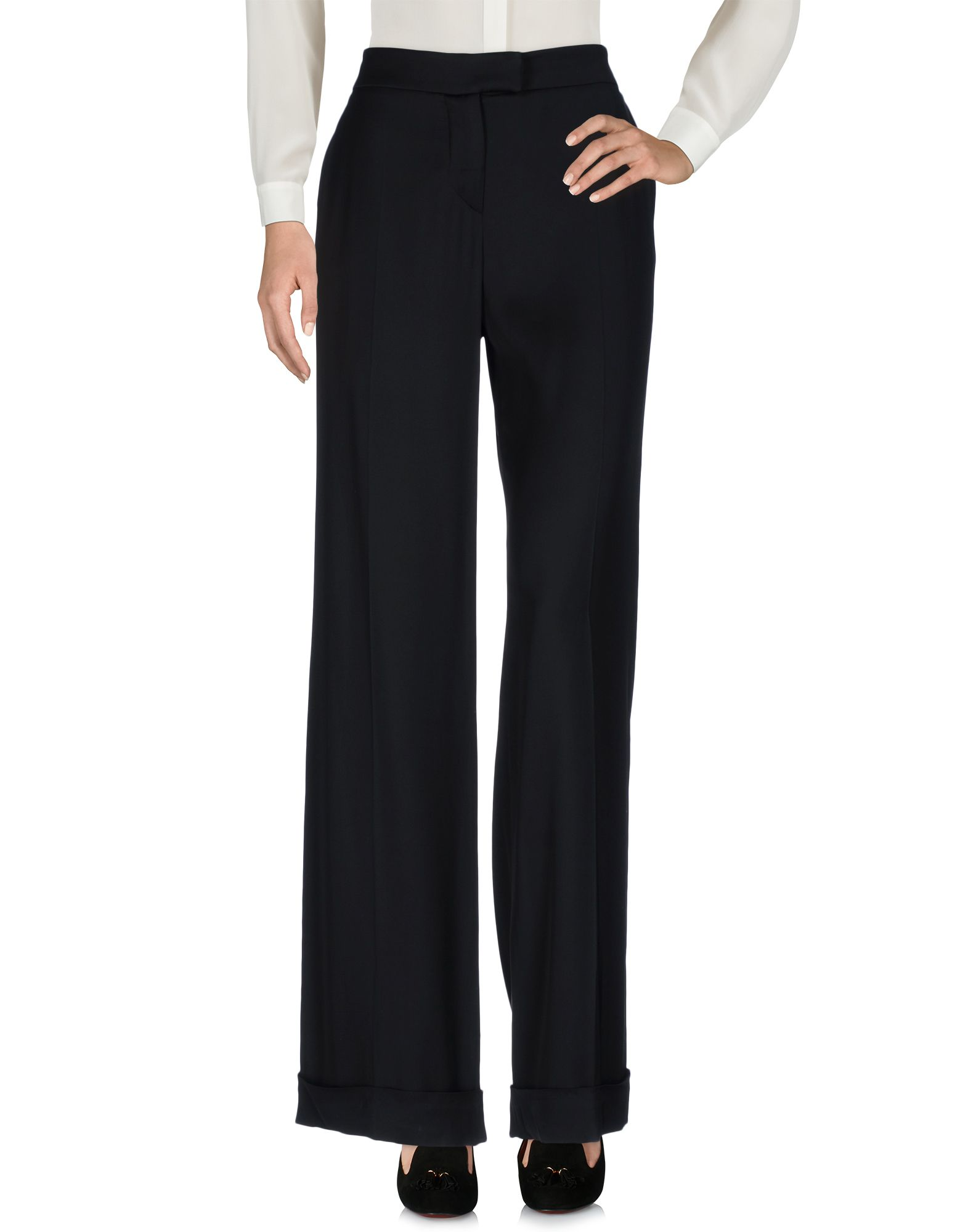 REDValentino Damen Hose Farbe Schwarz Größe 7 - broschei