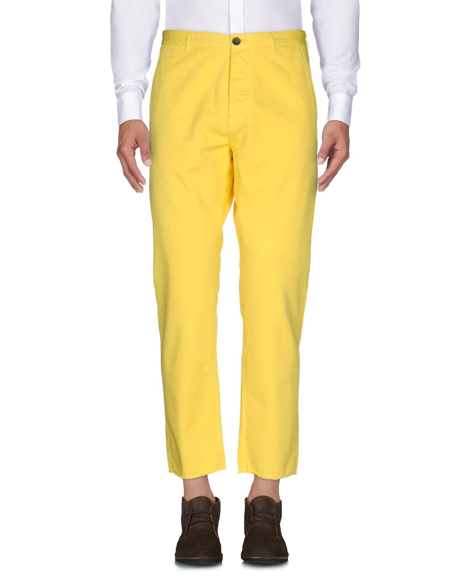 MSGM Herren Hose Farbe Gelb Größe 2 jetztbilligerkaufen
