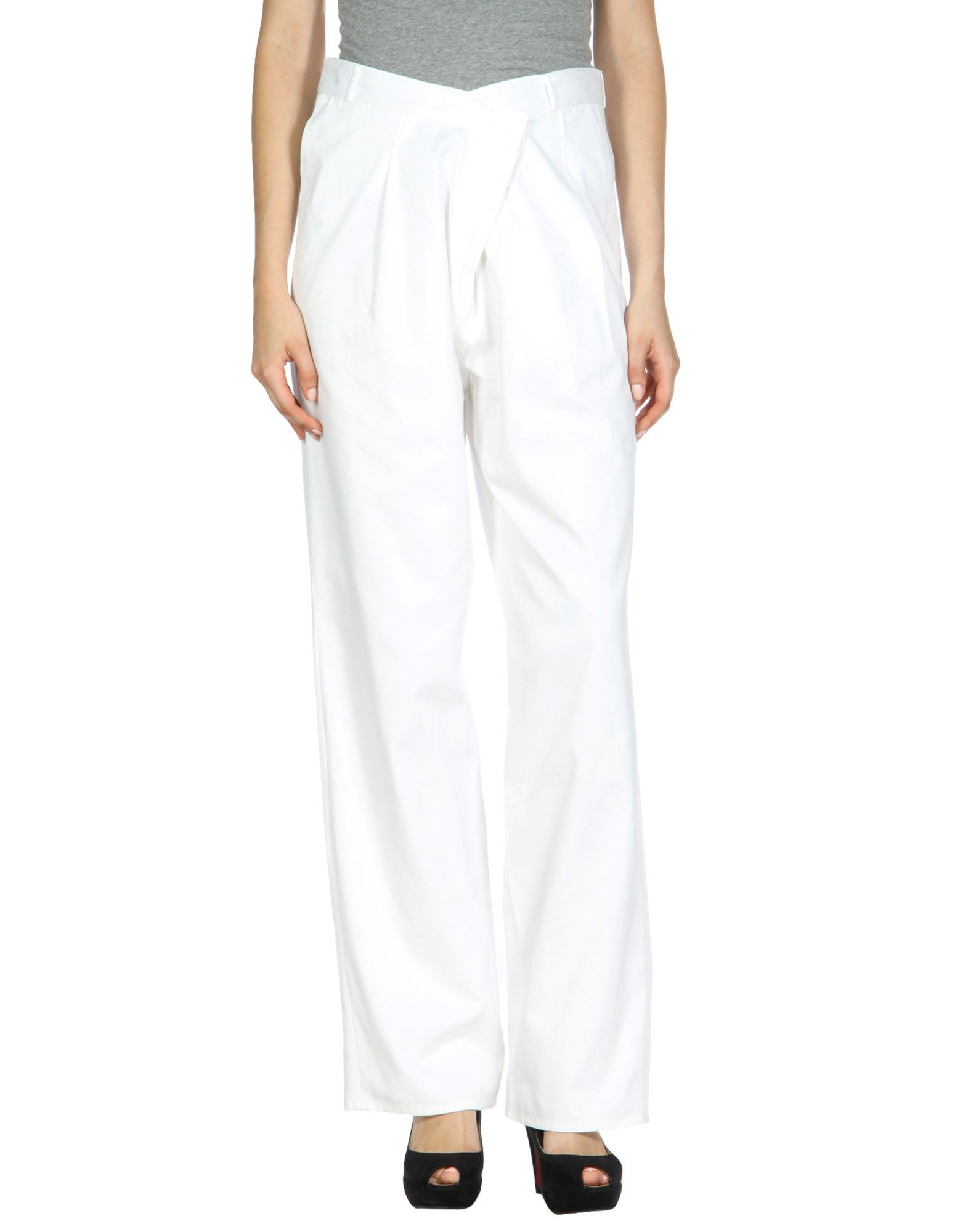 BACK Casual Pants in White