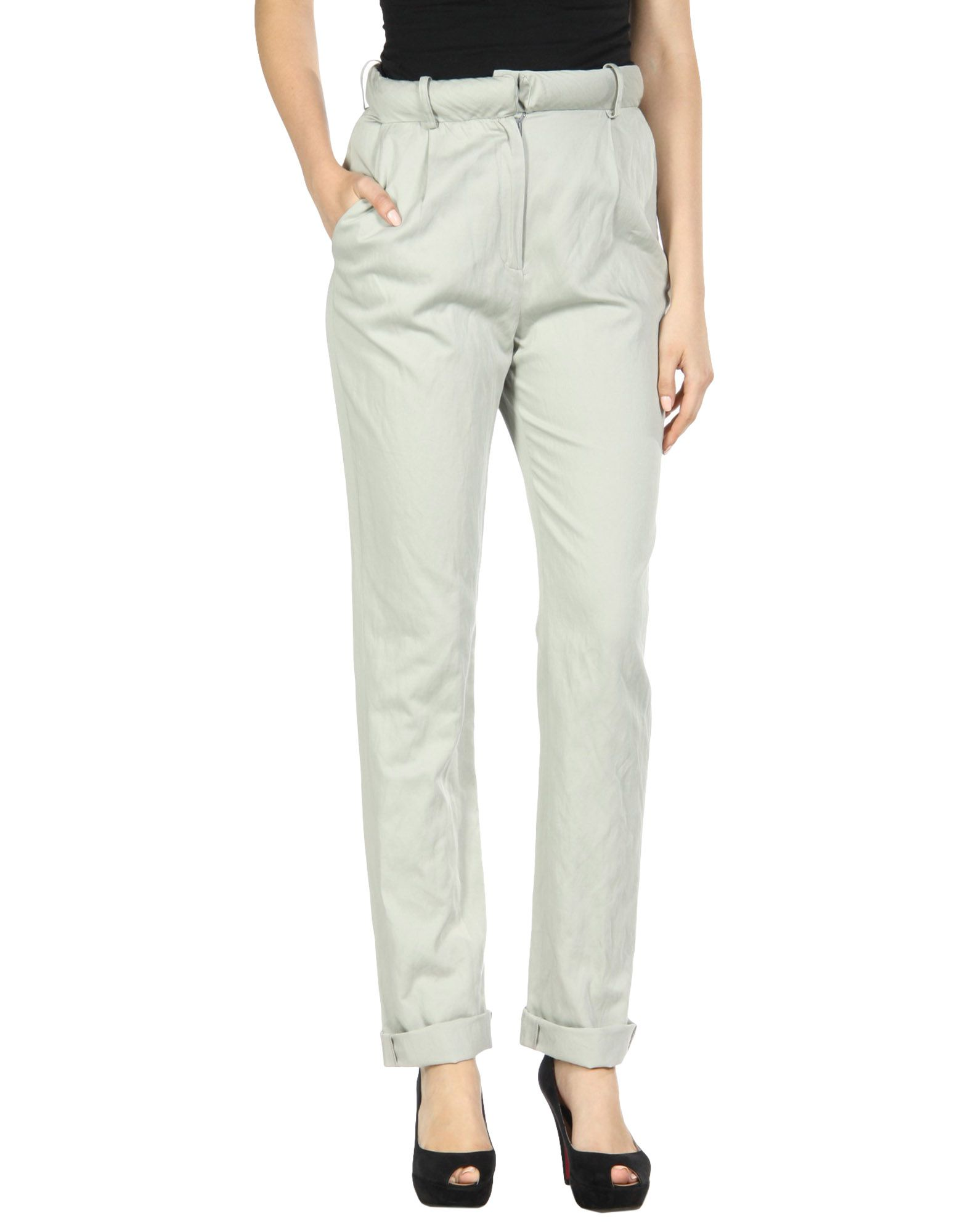 BACK Casual Pants in Light Grey