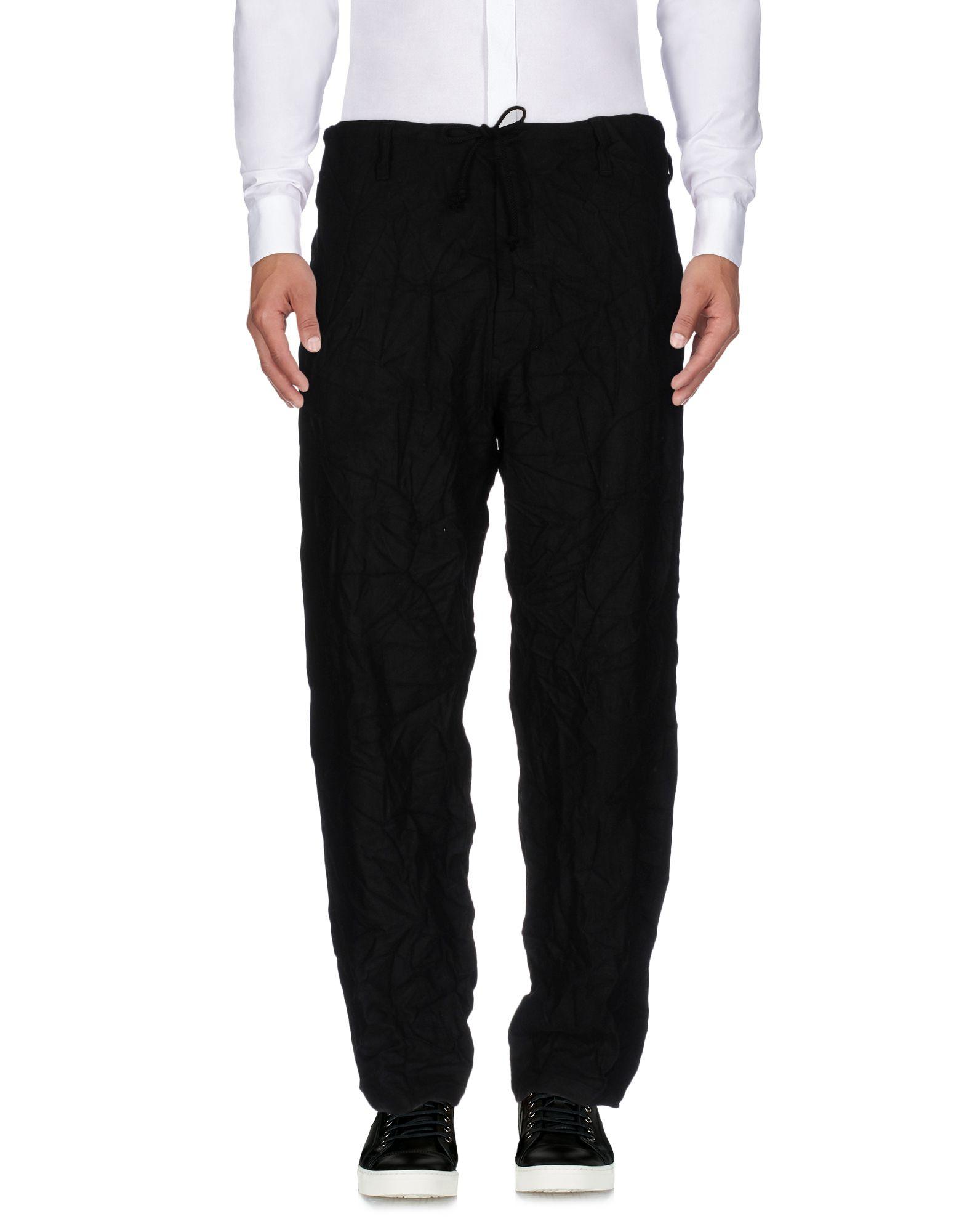 купить YOHJI YAMAMOTO POUR HOMME Повседневные брюки по цене 14300 рублей