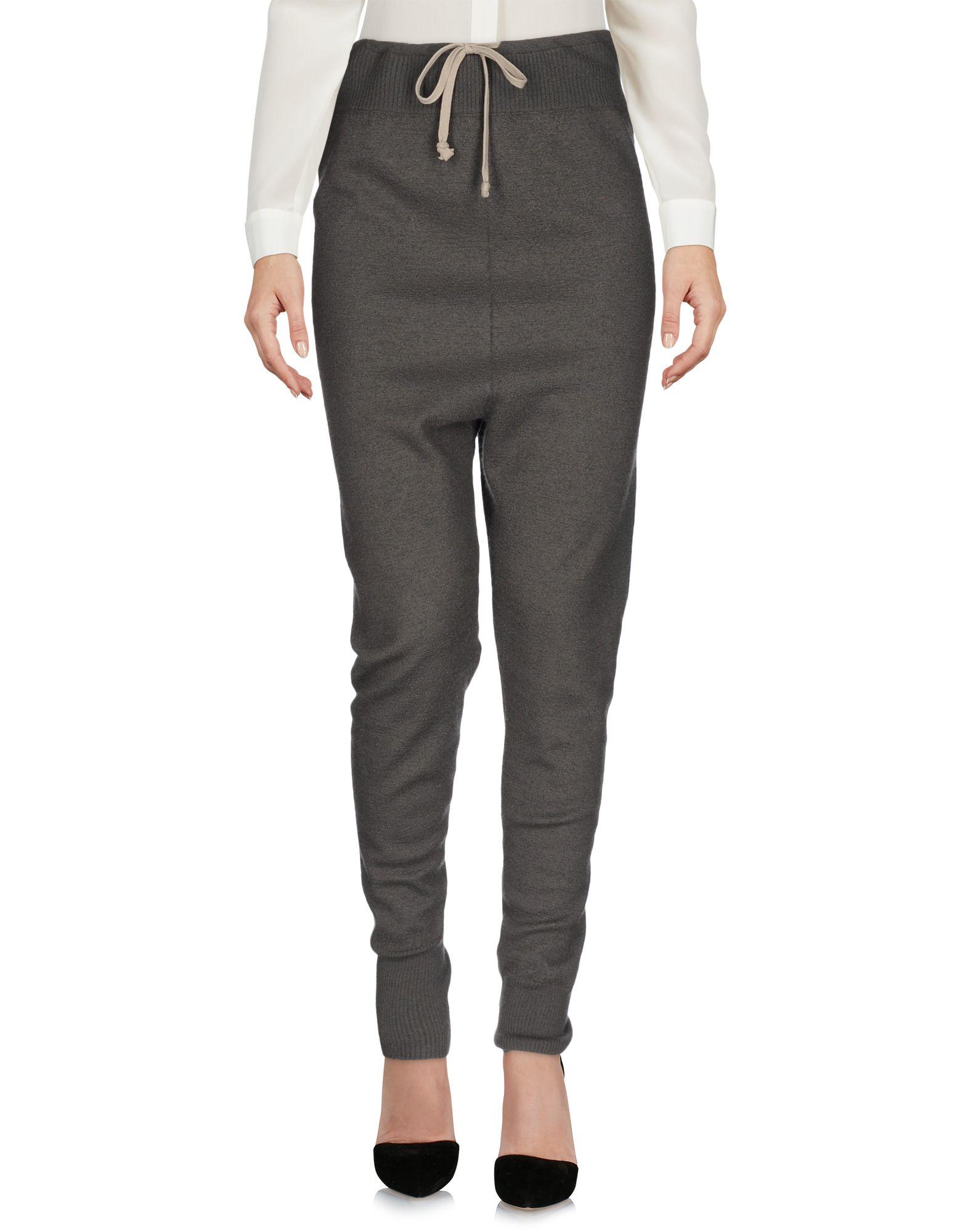 RICK OWENS Damen Hose Farbe Grau Größe 6 - broschei