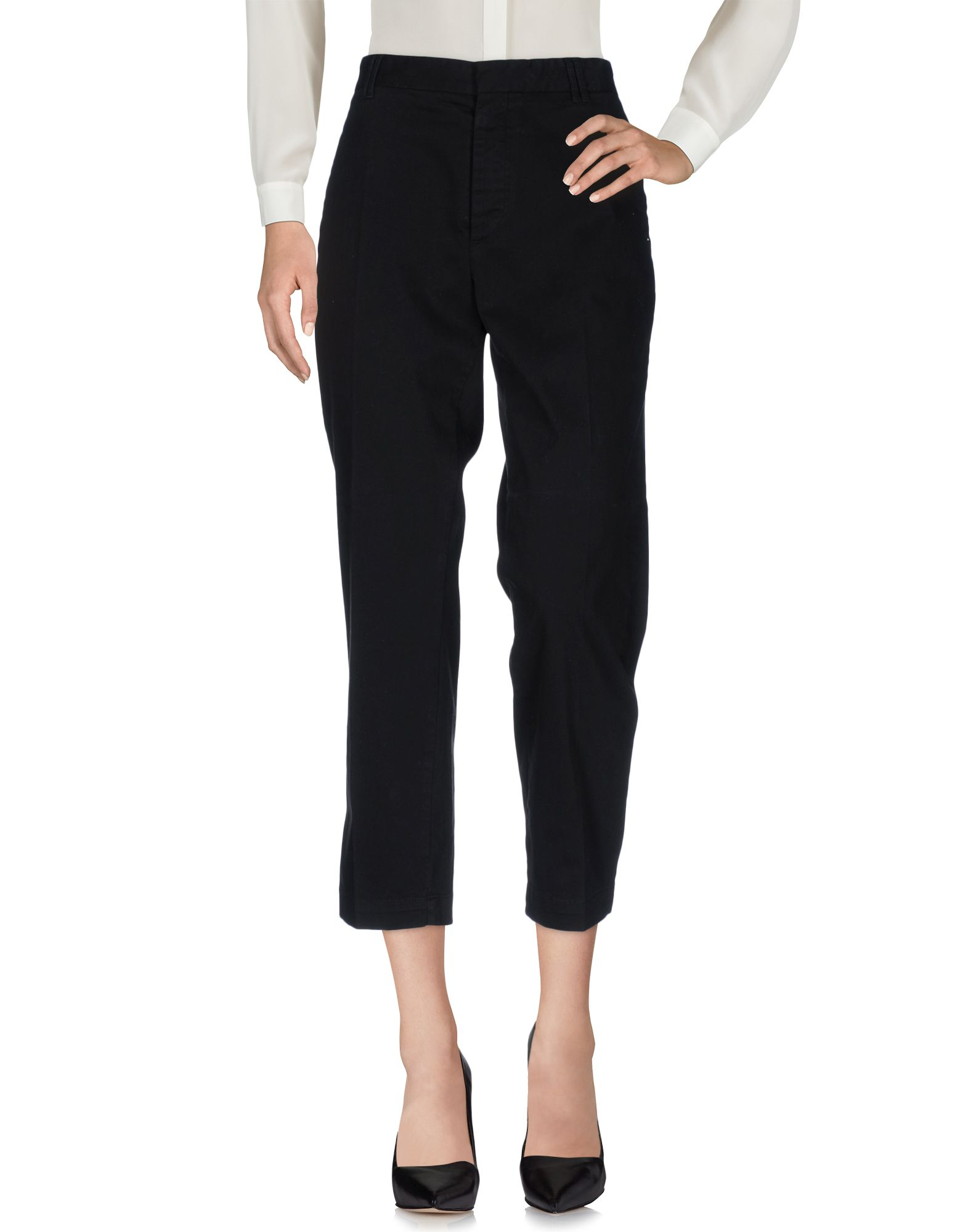 MAURO GRIFONI Damen Hose Farbe Schwarz Größe 4 - broschei