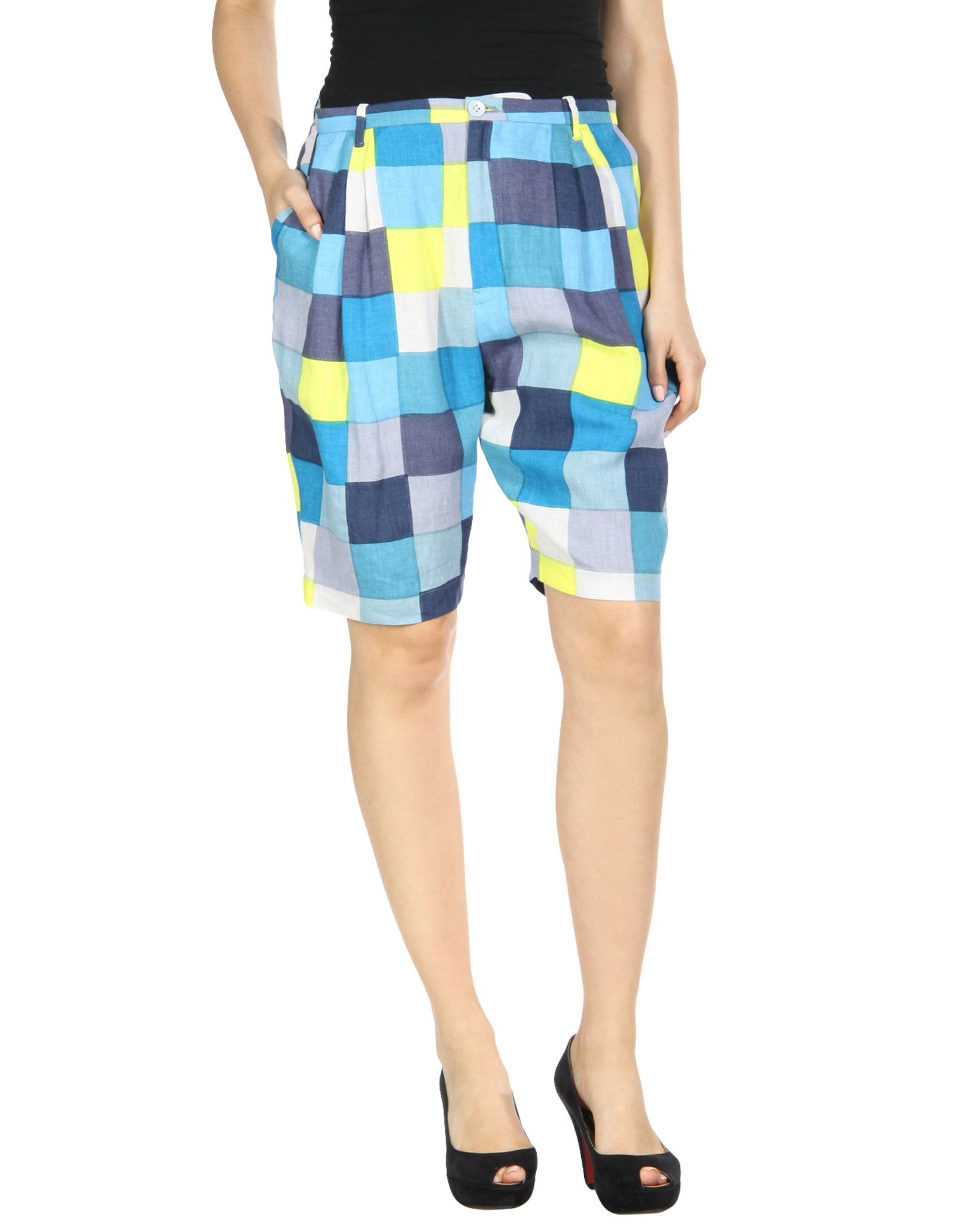 MINÄ PERHONEN Shorts & Bermuda in Blue