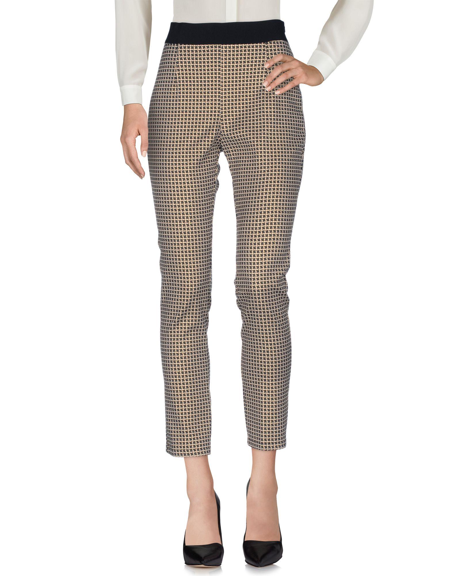 цена CRISTINA GAVIOLI Повседневные брюки онлайн в 2017 году