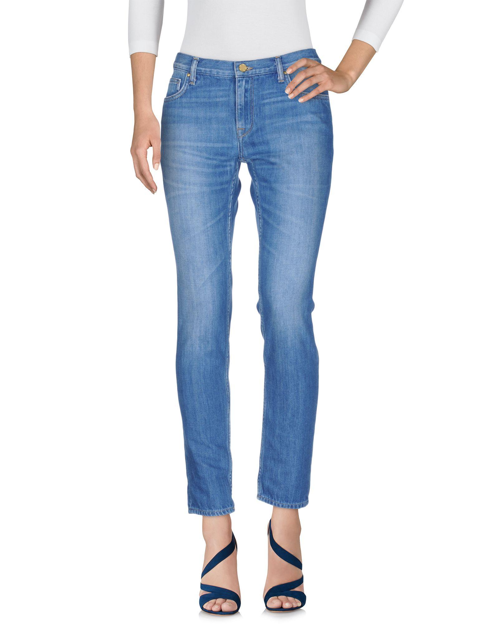 цена AMY GEE Джинсовые брюки онлайн в 2017 году