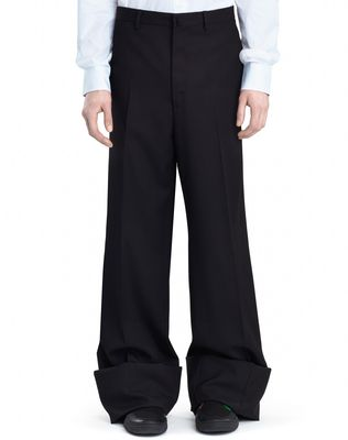 LANVIN Trousers U OVERSIZED TROUSERS F