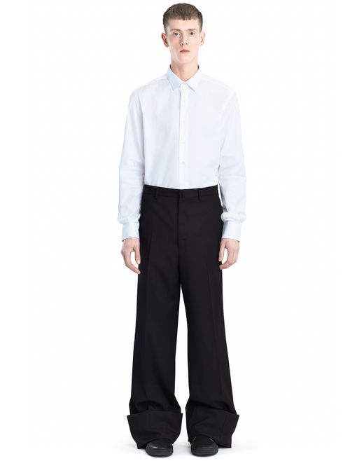 lanvin oversized trousers men