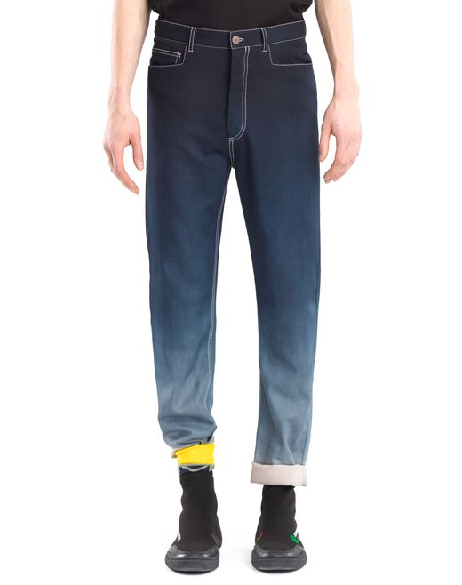 lanvin overdyed pants men