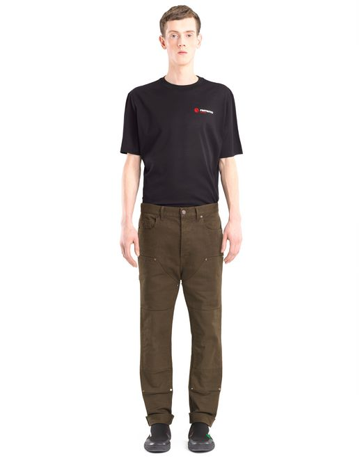 lanvin workwear jeans men